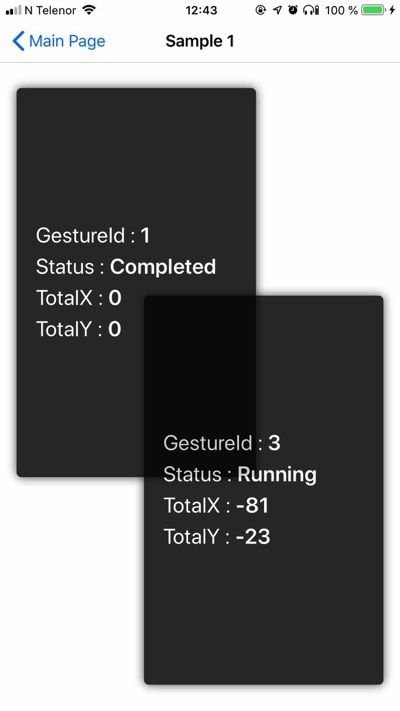 Drag and drop in Xamarin.Forms